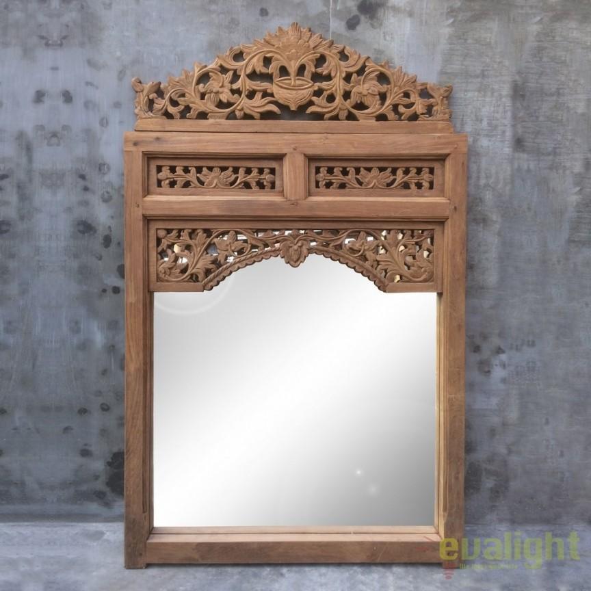 Oglinda decorativa design unicat ANTIGUO, 78x125cm DZ-120184, Oglinzi decorative, Corpuri de iluminat, lustre, aplice, veioze, lampadare, plafoniere. Mobilier si decoratiuni, oglinzi, scaune, fotolii. Oferte speciale iluminat interior si exterior. Livram in toata tara.  a