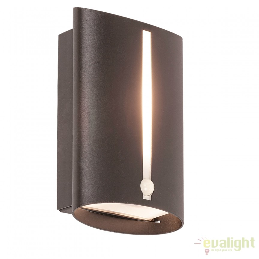 Aplica exterior cu senzor de miscare IP44 Baltimore III 8731 RX, Iluminat cu senzor de miscare, Corpuri de iluminat, lustre, aplice, veioze, lampadare, plafoniere. Mobilier si decoratiuni, oglinzi, scaune, fotolii. Oferte speciale iluminat interior si exterior. Livram in toata tara.  a