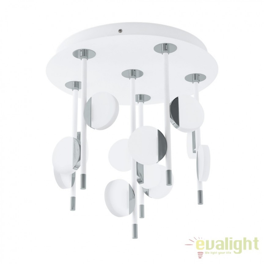 Plafoniera, pendul design modern, LED diametru 39,5cm, OLINDRA 96968 EL, Plafoniere moderne, Corpuri de iluminat, lustre, aplice, veioze, lampadare, plafoniere. Mobilier si decoratiuni, oglinzi, scaune, fotolii. Oferte speciale iluminat interior si exterior. Livram in toata tara.  a