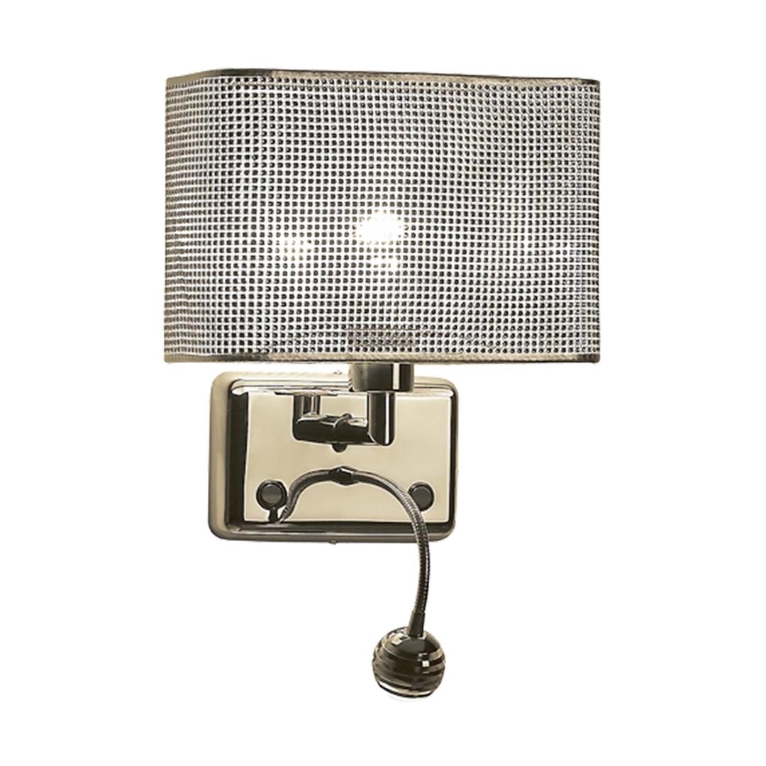 Aplica eleganta cu reader LED, BLINK W0173-02A-F4B3 ZL, Magazin, Corpuri de iluminat, lustre, aplice, veioze, lampadare, plafoniere. Mobilier si decoratiuni, oglinzi, scaune, fotolii. Oferte speciale iluminat interior si exterior. Livram in toata tara.  a