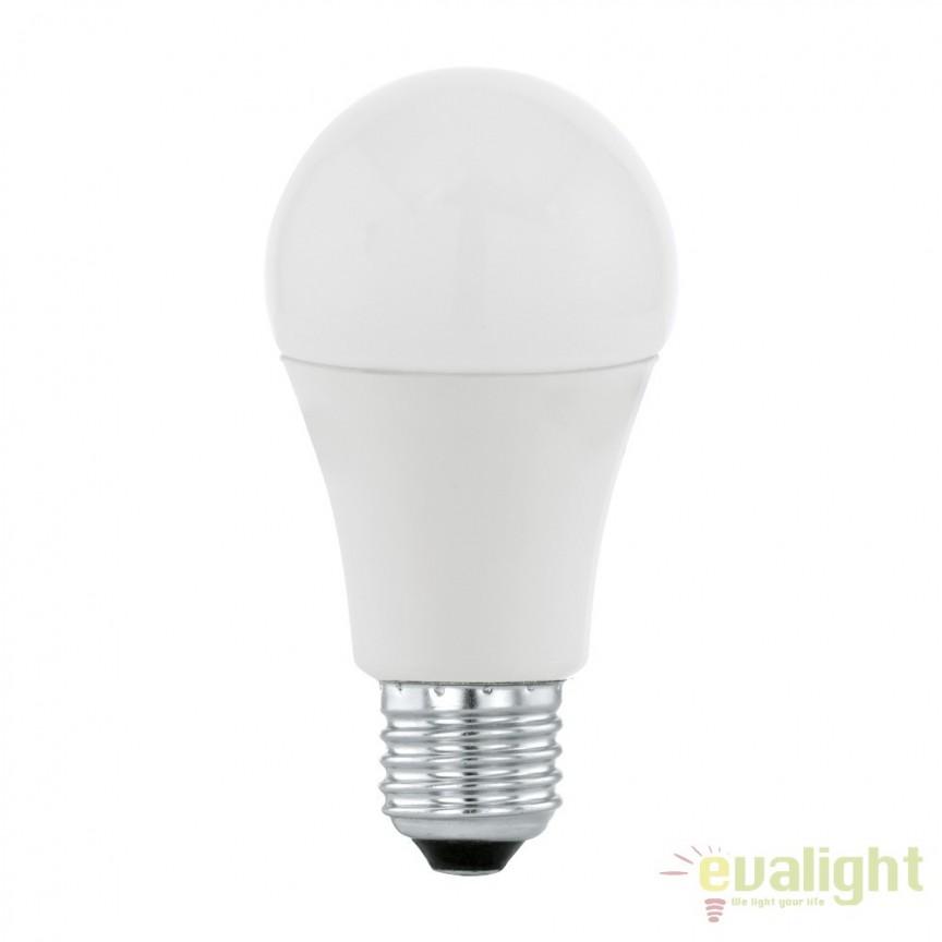 Bec E27-LED-A60 10W 806 lm 3000K 11477 EL, Magazin, Corpuri de iluminat, lustre, aplice, veioze, lampadare, plafoniere. Mobilier si decoratiuni, oglinzi, scaune, fotolii. Oferte speciale iluminat interior si exterior. Livram in toata tara.  a