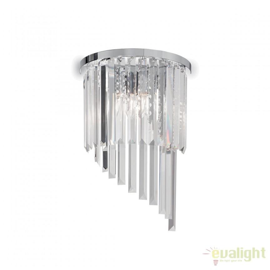 Aplica perete moderna design elegant CARLTON AP3 168913, PROMOTII, Corpuri de iluminat, lustre, aplice, veioze, lampadare, plafoniere. Mobilier si decoratiuni, oglinzi, scaune, fotolii. Oferte speciale iluminat interior si exterior. Livram in toata tara.  a