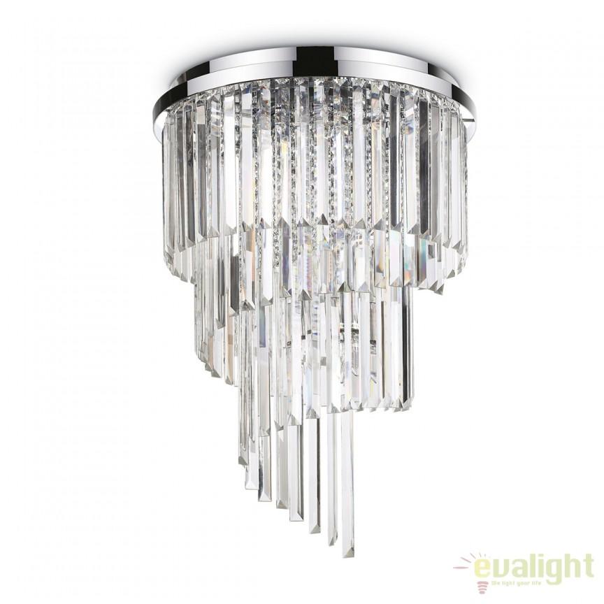 Lustra / Plafoniera moderna design elegant CARLTON PL12 168937, PROMOTII, Corpuri de iluminat, lustre, aplice, veioze, lampadare, plafoniere. Mobilier si decoratiuni, oglinzi, scaune, fotolii. Oferte speciale iluminat interior si exterior. Livram in toata tara.  a