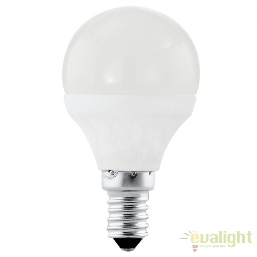 Bec E14-LED-P45 4W 320 lm 3000K 11419 EL, Magazin, Corpuri de iluminat, lustre, aplice, veioze, lampadare, plafoniere. Mobilier si decoratiuni, oglinzi, scaune, fotolii. Oferte speciale iluminat interior si exterior. Livram in toata tara.  a