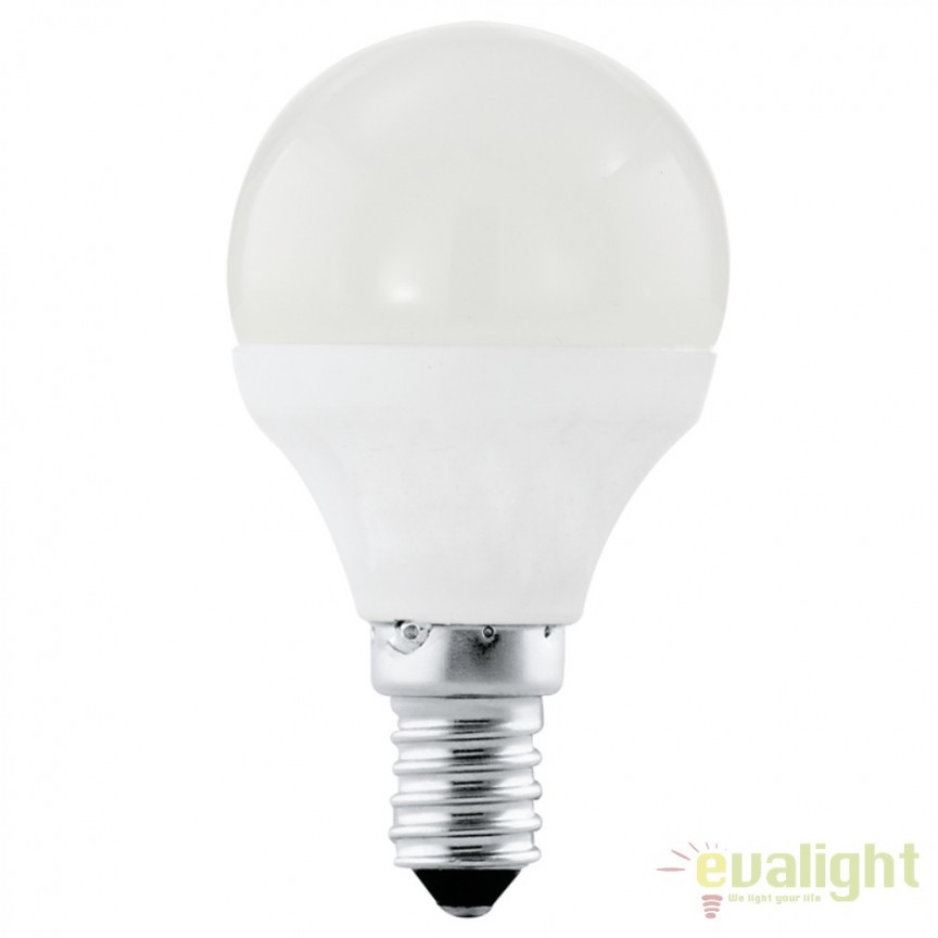 Bec E14-LED-P45 4W 320 lm 4000K 10759 EL, Magazin, Corpuri de iluminat, lustre, aplice, veioze, lampadare, plafoniere. Mobilier si decoratiuni, oglinzi, scaune, fotolii. Oferte speciale iluminat interior si exterior. Livram in toata tara.  a