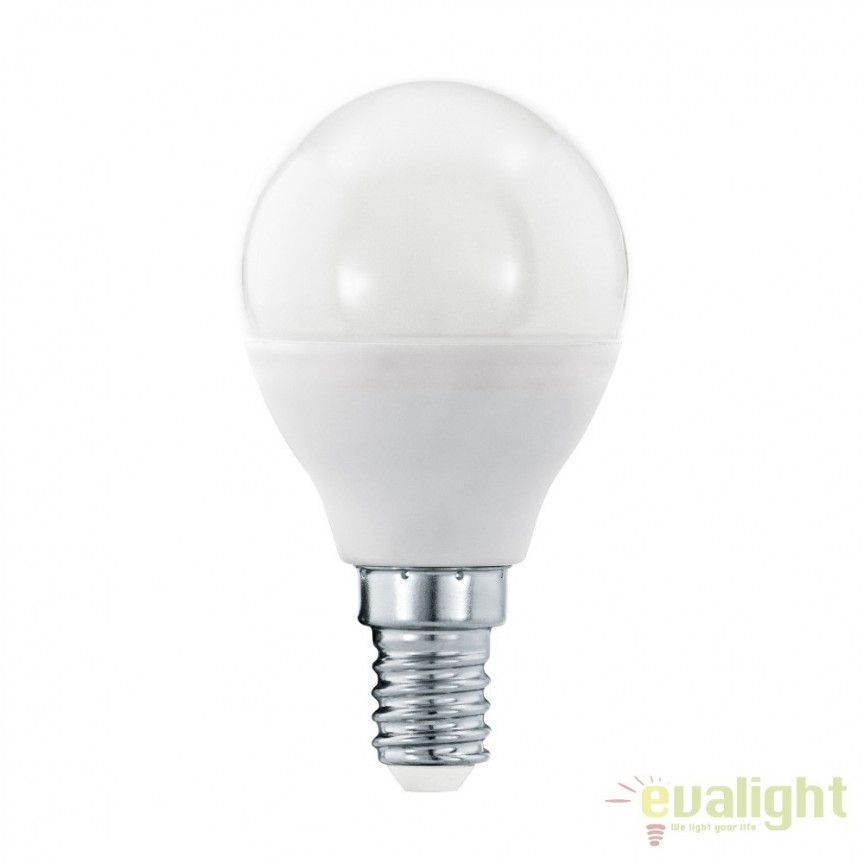 Bec E14-LED-P45 5,5W 470 lm 3000K 11644 EL, Becuri E14, Corpuri de iluminat, lustre, aplice, veioze, lampadare, plafoniere. Mobilier si decoratiuni, oglinzi, scaune, fotolii. Oferte speciale iluminat interior si exterior. Livram in toata tara.  a