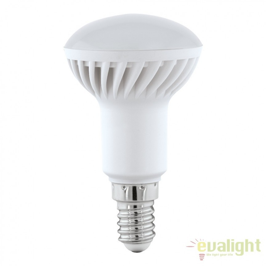 Bec E14-LED-R50 5W 400 lm 3000K 11431 EL, Magazin, Corpuri de iluminat, lustre, aplice, veioze, lampadare, plafoniere. Mobilier si decoratiuni, oglinzi, scaune, fotolii. Oferte speciale iluminat interior si exterior. Livram in toata tara.  a