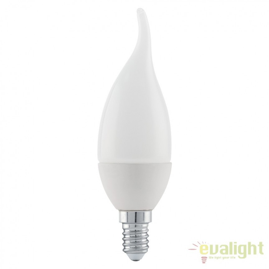 Bec E14-LED-CF37 4W 320 lm 3000K 11422 EL, Becuri E14, Corpuri de iluminat, lustre, aplice, veioze, lampadare, plafoniere. Mobilier si decoratiuni, oglinzi, scaune, fotolii. Oferte speciale iluminat interior si exterior. Livram in toata tara.  a