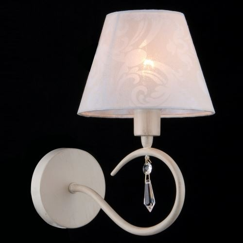 Aplica de perete eleganta design clasic Talia alb MYARM334-01-W, Aplice de perete clasice, Corpuri de iluminat, lustre, aplice, veioze, lampadare, plafoniere. Mobilier si decoratiuni, oglinzi, scaune, fotolii. Oferte speciale iluminat interior si exterior. Livram in toata tara.  a