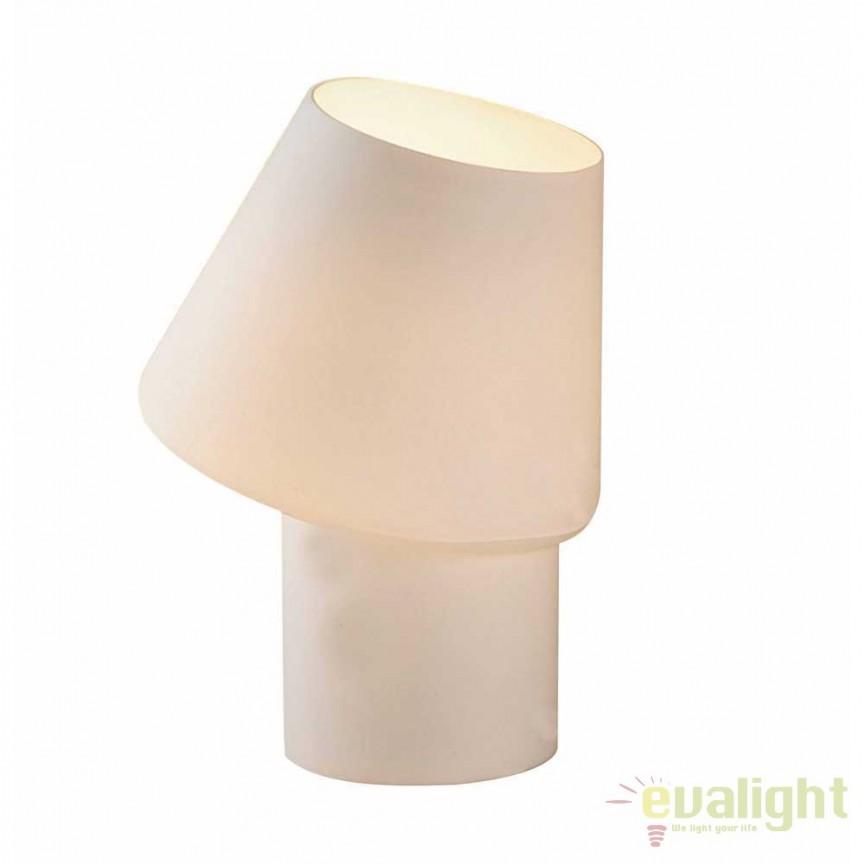 Veioza, lampa de masa moderna IPIS T1528-01S-A0AA ZL, Veioze, Lampi de masa, Corpuri de iluminat, lustre, aplice, veioze, lampadare, plafoniere. Mobilier si decoratiuni, oglinzi, scaune, fotolii. Oferte speciale iluminat interior si exterior. Livram in toata tara.  a