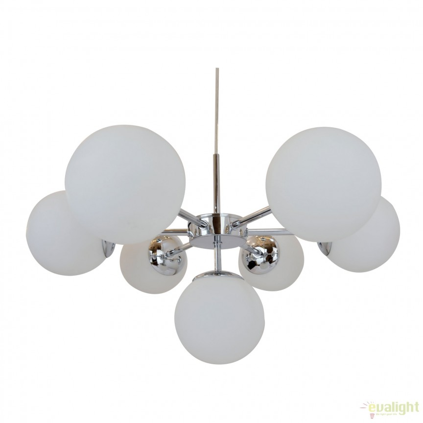 Lustra design deosebit cu 7 surse de lumina JENA P17106-7 ZL, PROMOTII,  a