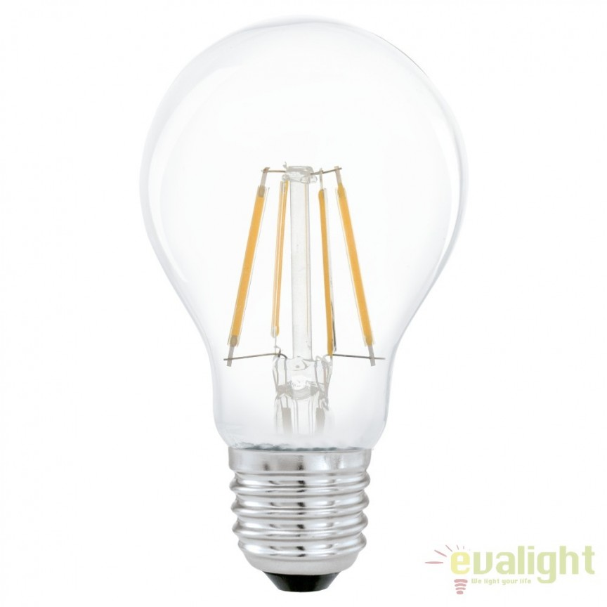 Bec E27-LED-A60 4W 350 lm 2700K 11491 EL, Magazin, Corpuri de iluminat, lustre, aplice, veioze, lampadare, plafoniere. Mobilier si decoratiuni, oglinzi, scaune, fotolii. Oferte speciale iluminat interior si exterior. Livram in toata tara.  a