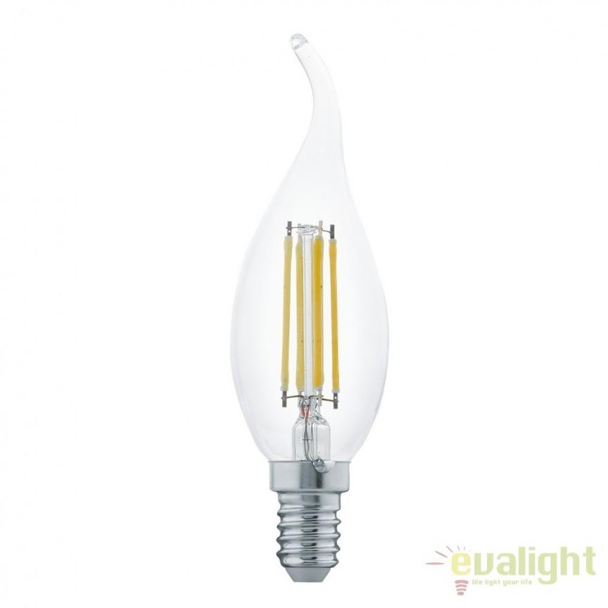 Bec E14-LED-CF35 4W 350 lm 2700K 11497 EL, Becuri E14, Corpuri de iluminat, lustre, aplice, veioze, lampadare, plafoniere. Mobilier si decoratiuni, oglinzi, scaune, fotolii. Oferte speciale iluminat interior si exterior. Livram in toata tara.  a