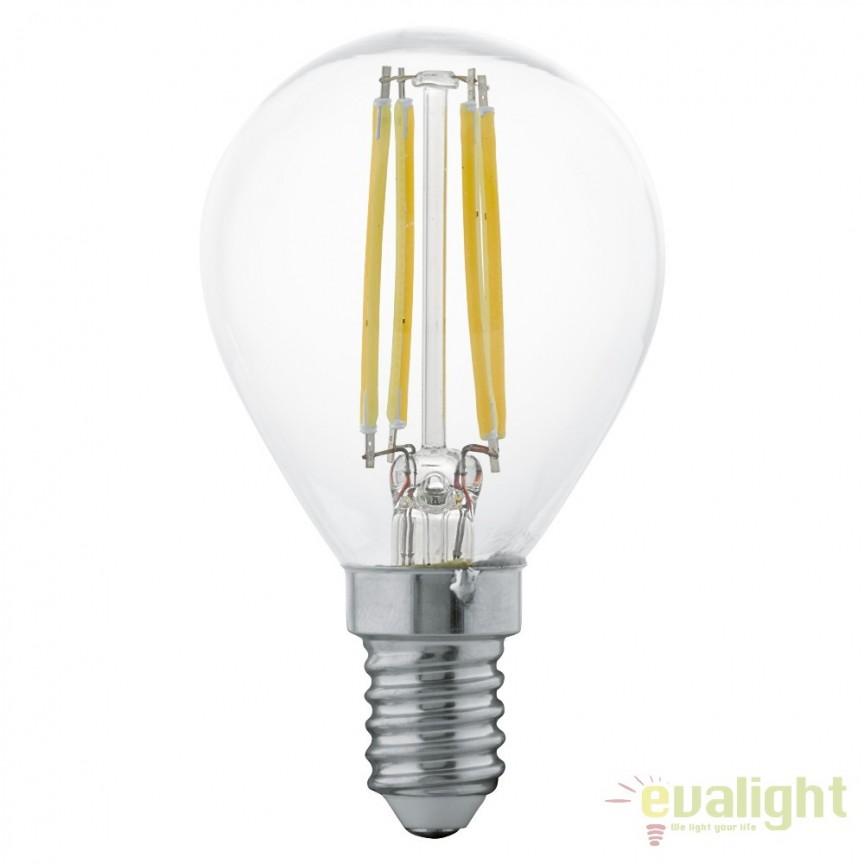 Bec E14-LED-P45 4W 350 lm 2700K 11499 EL, Becuri E14, Corpuri de iluminat, lustre, aplice, veioze, lampadare, plafoniere. Mobilier si decoratiuni, oglinzi, scaune, fotolii. Oferte speciale iluminat interior si exterior. Livram in toata tara.  a