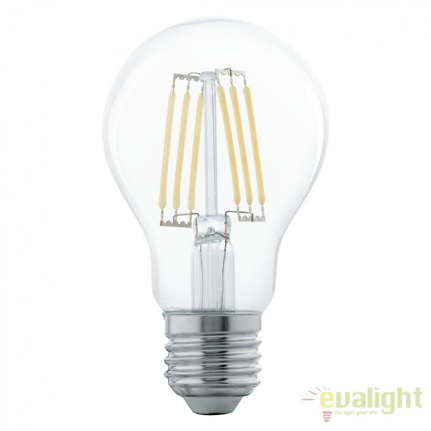 Bec E27-LED-A60 5W 600 lm 2700K 11501 EL, Magazin, Corpuri de iluminat, lustre, aplice, veioze, lampadare, plafoniere. Mobilier si decoratiuni, oglinzi, scaune, fotolii. Oferte speciale iluminat interior si exterior. Livram in toata tara.  a