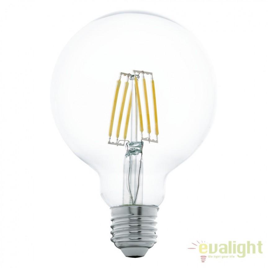 Bec E27-LED-G95 5W 600 lm 2700K 11503 EL, Magazin, Corpuri de iluminat, lustre, aplice, veioze, lampadare, plafoniere. Mobilier si decoratiuni, oglinzi, scaune, fotolii. Oferte speciale iluminat interior si exterior. Livram in toata tara.  a