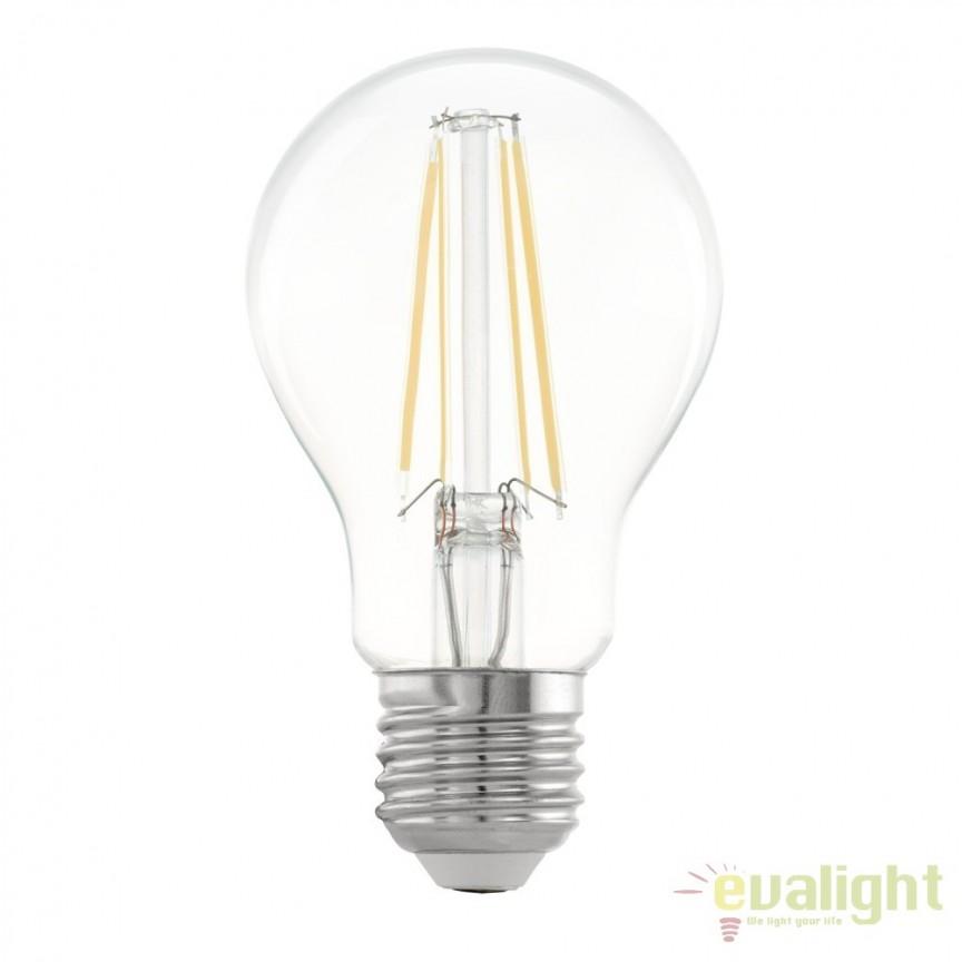 Bec E27-LED-A60 5W 470 lm 2700K 11534 EL, Magazin, Corpuri de iluminat, lustre, aplice, veioze, lampadare, plafoniere. Mobilier si decoratiuni, oglinzi, scaune, fotolii. Oferte speciale iluminat interior si exterior. Livram in toata tara.  a