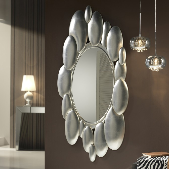 Oglinda decorativa eleganta design LUX Delta SV-403167, Oglinzi decorative, Corpuri de iluminat, lustre, aplice, veioze, lampadare, plafoniere. Mobilier si decoratiuni, oglinzi, scaune, fotolii. Oferte speciale iluminat interior si exterior. Livram in toata tara.  a
