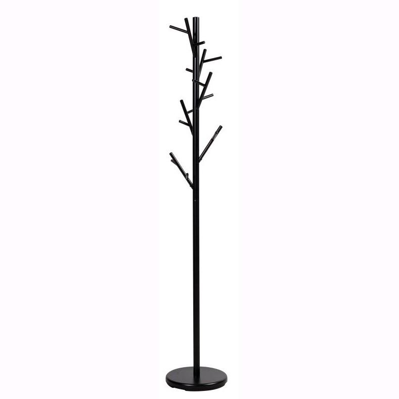 Cuier modern din metal ZEN, negru ZEN SM