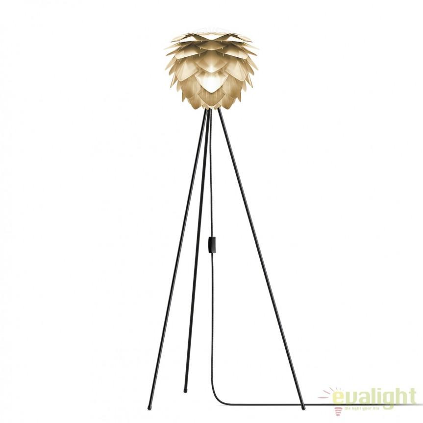 Lampadar modern cu trepied Silvia mini 32cm, alama 2071+(4015- alb/ 4016-negru) VTC, PROMOTII, Corpuri de iluminat, lustre, aplice, veioze, lampadare, plafoniere. Mobilier si decoratiuni, oglinzi, scaune, fotolii. Oferte speciale iluminat interior si exterior. Livram in toata tara.  a
