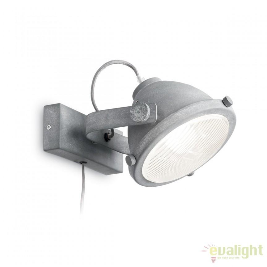 Aplica design vintage din metal cu difuzor directionabil, REFLECTOR AP1 155630, Spoturi - iluminat - cu 1 spot, Corpuri de iluminat, lustre, aplice, veioze, lampadare, plafoniere. Mobilier si decoratiuni, oglinzi, scaune, fotolii. Oferte speciale iluminat interior si exterior. Livram in toata tara.  a