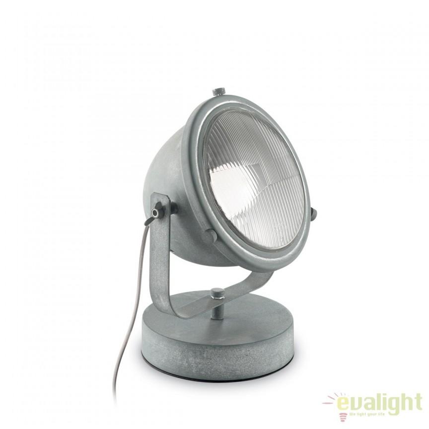 Lampa de masa vintage din metal cu difuzor directionabil, REFLECTOR TL1 162461, ILUMINAT INTERIOR RUSTIC, Corpuri de iluminat, lustre, aplice, veioze, lampadare, plafoniere. Mobilier si decoratiuni, oglinzi, scaune, fotolii. Oferte speciale iluminat interior si exterior. Livram in toata tara.  a