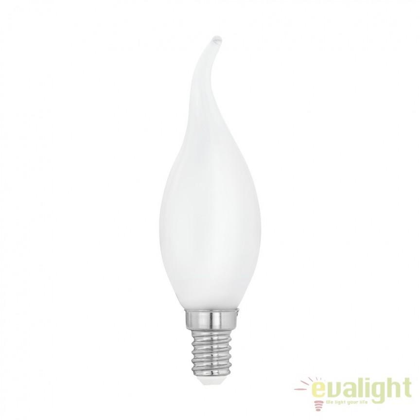 Bec E14-LED-CF35 4W 470 lm 2700K 11603 EL, Becuri E14, Corpuri de iluminat, lustre, aplice, veioze, lampadare, plafoniere. Mobilier si decoratiuni, oglinzi, scaune, fotolii. Oferte speciale iluminat interior si exterior. Livram in toata tara.  a