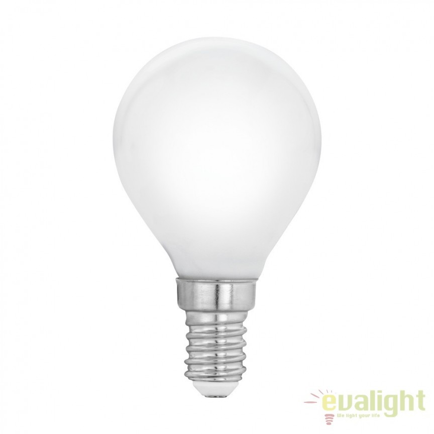Bec E14-LED-P45 4W 470 lm 2700K 11604 EL, Becuri E14, Corpuri de iluminat, lustre, aplice, veioze, lampadare, plafoniere. Mobilier si decoratiuni, oglinzi, scaune, fotolii. Oferte speciale iluminat interior si exterior. Livram in toata tara.  a