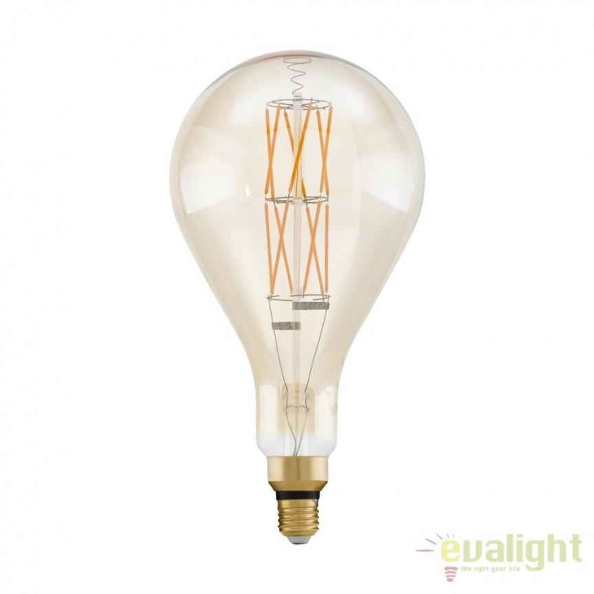Bec dimabil E27-LED-PS160 8W 806 lm 2100K 11686 EL, Becuri E27, Corpuri de iluminat, lustre, aplice, veioze, lampadare, plafoniere. Mobilier si decoratiuni, oglinzi, scaune, fotolii. Oferte speciale iluminat interior si exterior. Livram in toata tara.  a