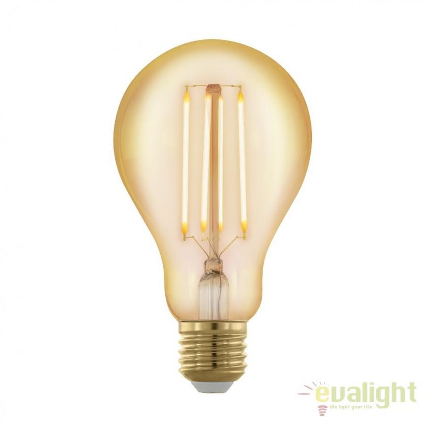Bec dimabil E27-LED-A75 4W 320 lm 1700K 11691 EL, Becuri E27, Corpuri de iluminat, lustre, aplice, veioze, lampadare, plafoniere. Mobilier si decoratiuni, oglinzi, scaune, fotolii. Oferte speciale iluminat interior si exterior. Livram in toata tara.  a