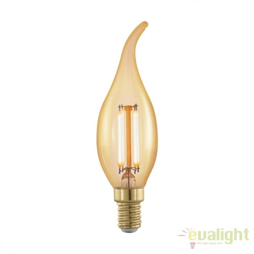 Bec dimabil E14-LED-CF35 4W 320 lm 1700K 11699 EL, Becuri E14, Corpuri de iluminat, lustre, aplice, veioze, lampadare, plafoniere. Mobilier si decoratiuni, oglinzi, scaune, fotolii. Oferte speciale iluminat interior si exterior. Livram in toata tara.  a