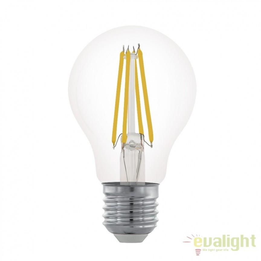 Bec dimabil E27-LED-A60 6W 806 lm 2700K 11701 EL, BECURI ILUMINAT, Corpuri de iluminat, lustre, aplice, veioze, lampadare, plafoniere. Mobilier si decoratiuni, oglinzi, scaune, fotolii. Oferte speciale iluminat interior si exterior. Livram in toata tara.  a