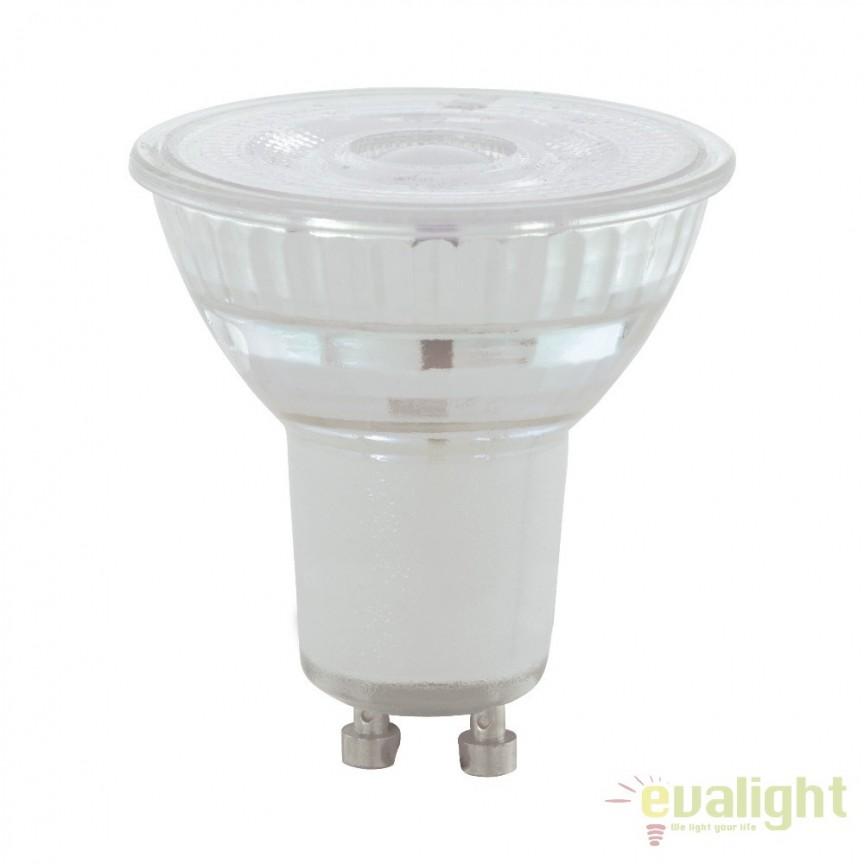 Bec dimabil GU10-LED 5,2W 345 lm 3000K 11575 EL, Becuri GU10, GU4, GU3,5, Corpuri de iluminat, lustre, aplice, veioze, lampadare, plafoniere. Mobilier si decoratiuni, oglinzi, scaune, fotolii. Oferte speciale iluminat interior si exterior. Livram in toata tara.  a