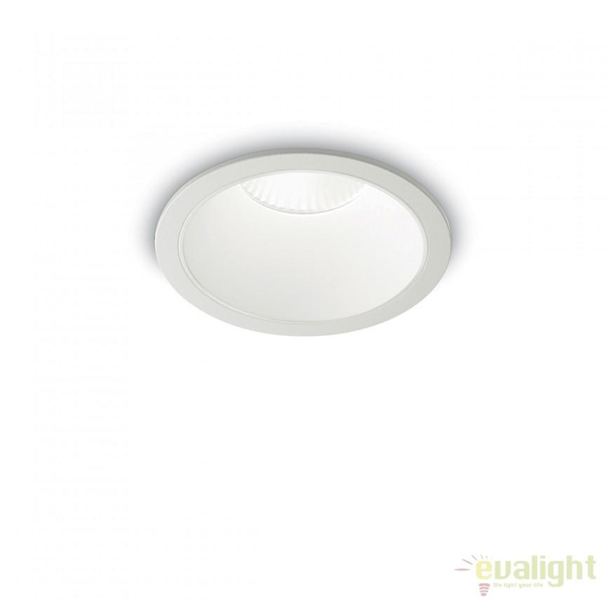 Spot LED incastrabil design modern GAME FI1 ROUND alb / alb 192291, Spot cu LED incastrabil, aplicat⭐ corp de iluminat incastrat pentru tavan fals rigips, baie, mobila.✅Design LED decorativ 2021!❤️Promotii lampi❗ Magazin ➽ www.evalight.ro. Alege corpuri de iluminat de interior tip spot LED dimabil variator, rama rotunda sau patrata, cu lumina calda, alba rece sau neutra, montare in tavan, perete, scari, pardoseala, ieftine de calitate la cel mai bun pret. a