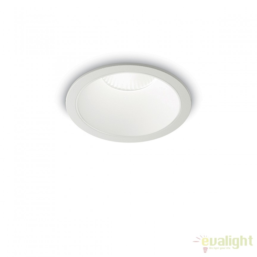 Spot LED incastrabil design modern GAME FI1 ROUND alb / alb 192291, Spoturi LED incastrate, aplicate, Corpuri de iluminat, lustre, aplice, veioze, lampadare, plafoniere. Mobilier si decoratiuni, oglinzi, scaune, fotolii. Oferte speciale iluminat interior si exterior. Livram in toata tara.  a