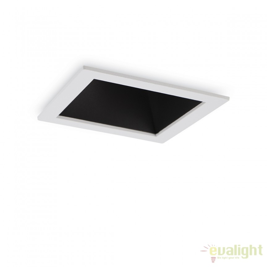 Spot LED incastrabil design modern GAME FI1 SQUARE alb / negru 192352, Spoturi LED incastrate, aplicate, Corpuri de iluminat, lustre, aplice, veioze, lampadare, plafoniere. Mobilier si decoratiuni, oglinzi, scaune, fotolii. Oferte speciale iluminat interior si exterior. Livram in toata tara.  a
