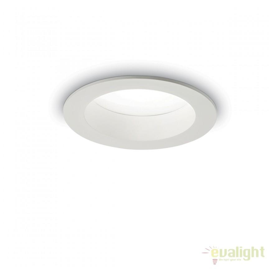 Spot LED incastrabil pentru baie BASIC WIDE 9W 3000K IP44 193519, Plafoniere cu protectie pentru baie, Corpuri de iluminat, lustre, aplice, veioze, lampadare, plafoniere. Mobilier si decoratiuni, oglinzi, scaune, fotolii. Oferte speciale iluminat interior si exterior. Livram in toata tara.  a