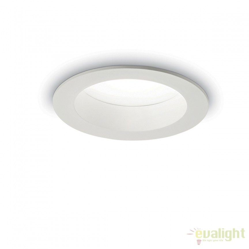 Spot LED incastrabil pentru baie BASIC WIDE 15W 3000K IP44 193526, Plafoniere cu protectie pentru baie, Corpuri de iluminat, lustre, aplice, veioze, lampadare, plafoniere. Mobilier si decoratiuni, oglinzi, scaune, fotolii. Oferte speciale iluminat interior si exterior. Livram in toata tara.  a