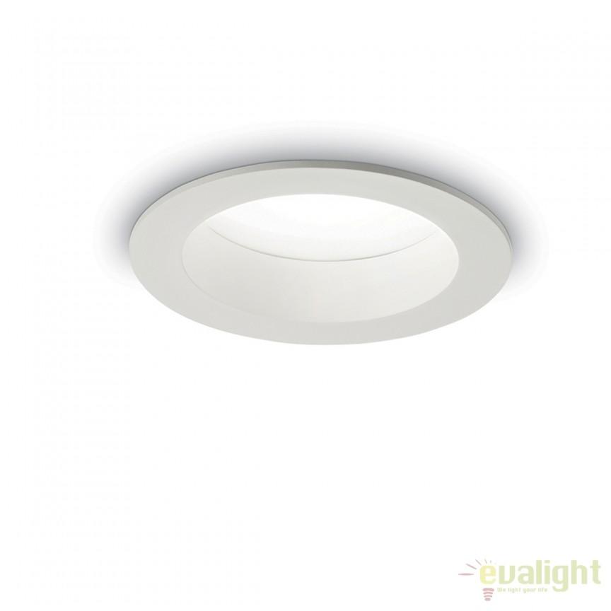 Spot LED incastrabil pentru baie BASIC WIDE 15W 4000K IP44 193410, Plafoniere cu protectie pentru baie, Corpuri de iluminat, lustre, aplice, veioze, lampadare, plafoniere. Mobilier si decoratiuni, oglinzi, scaune, fotolii. Oferte speciale iluminat interior si exterior. Livram in toata tara.  a