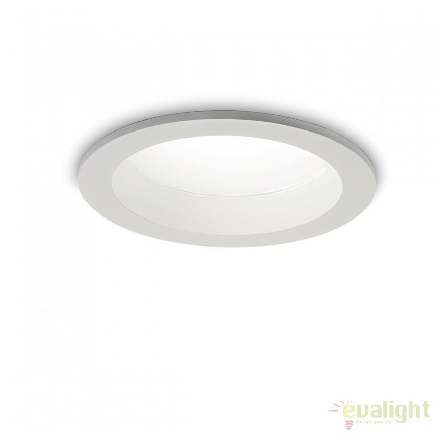 Spot LED incastrabil pentru baie BASIC WIDE 30W 4000K IP44 193434, Plafoniere cu protectie pentru baie, Corpuri de iluminat, lustre, aplice, veioze, lampadare, plafoniere. Mobilier si decoratiuni, oglinzi, scaune, fotolii. Oferte speciale iluminat interior si exterior. Livram in toata tara.  a