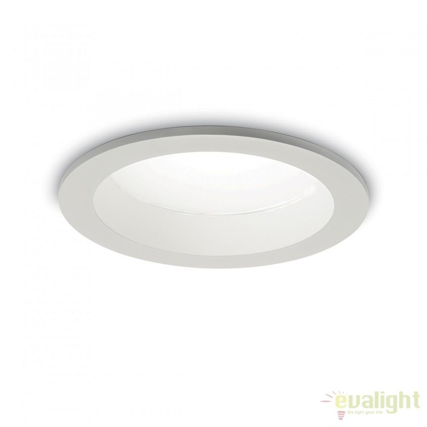 Spot LED incastrabil pentru baie BASIC WIDE 40W 3000K IP44 193557, Plafoniere cu protectie pentru baie, Corpuri de iluminat, lustre, aplice, veioze, lampadare, plafoniere. Mobilier si decoratiuni, oglinzi, scaune, fotolii. Oferte speciale iluminat interior si exterior. Livram in toata tara.  a