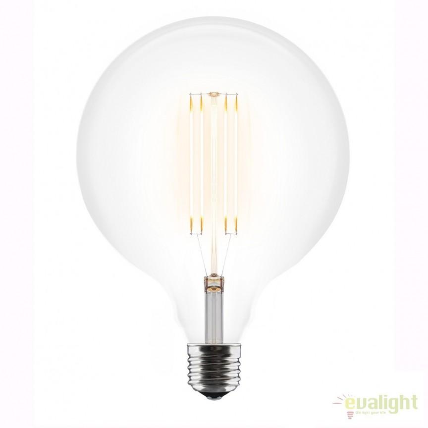 Bec LED 3W E27 2200K 4034 VTC, Becuri E27, Corpuri de iluminat, lustre, aplice, veioze, lampadare, plafoniere. Mobilier si decoratiuni, oglinzi, scaune, fotolii. Oferte speciale iluminat interior si exterior. Livram in toata tara.  a
