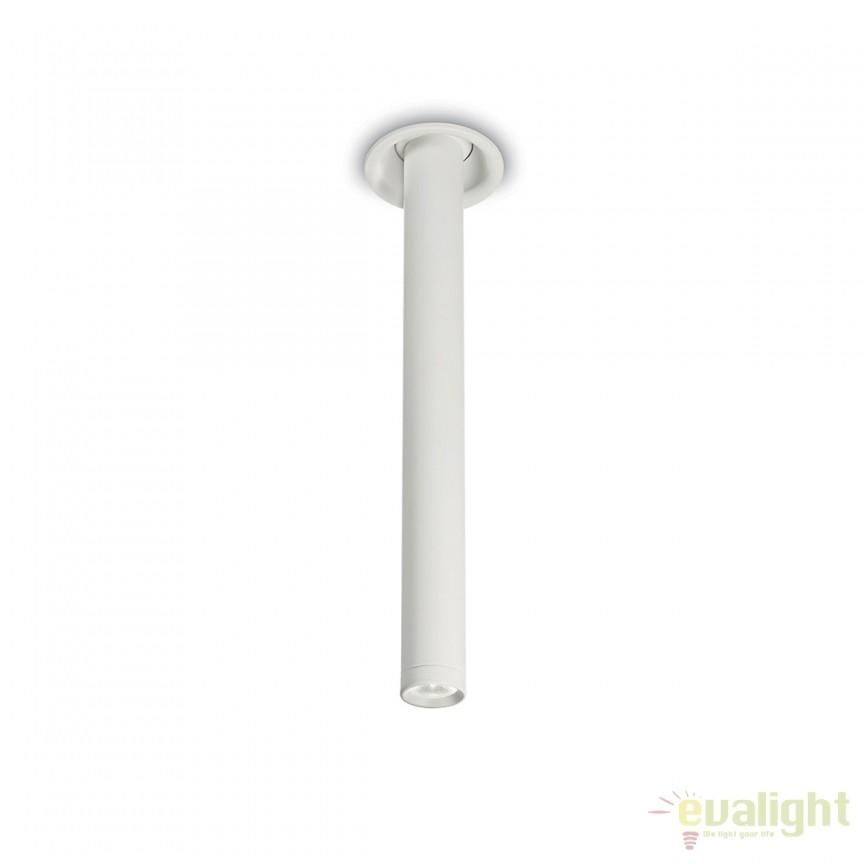 Spot LED directionabil aplicat design modern EYE alb 186986, Spoturi LED incastrate, aplicate, Corpuri de iluminat, lustre, aplice, veioze, lampadare, plafoniere. Mobilier si decoratiuni, oglinzi, scaune, fotolii. Oferte speciale iluminat interior si exterior. Livram in toata tara.  a