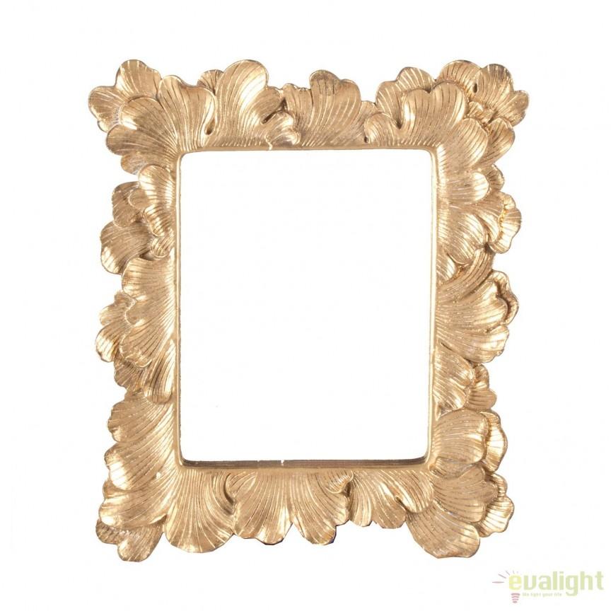 Oglinda decorativa din rasina ALIXAN, 32x37cm 23241 VH, Mobila si Decoratiuni,  a