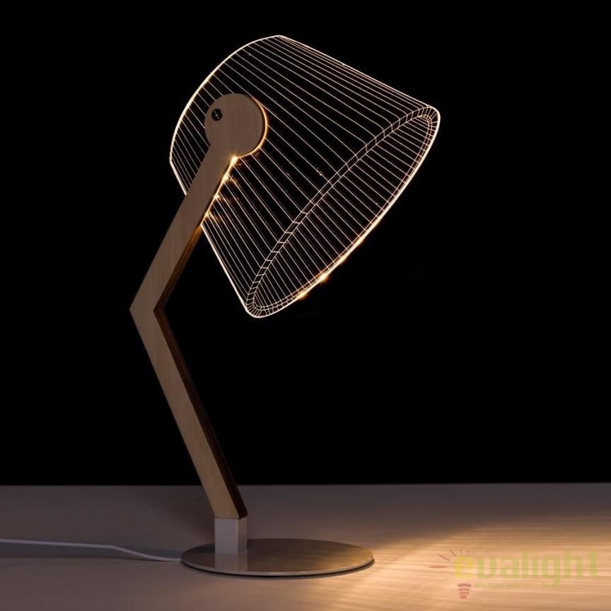 Veioza design modern LED ORO-BLANCO SX-104139, PROMOTII, Corpuri de iluminat, lustre, aplice, veioze, lampadare, plafoniere. Mobilier si decoratiuni, oglinzi, scaune, fotolii. Oferte speciale iluminat interior si exterior. Livram in toata tara.  a