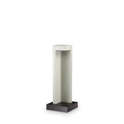 Stalp LED exterior design modern TITANO PT1 SMALL nisip 150796, Stalpi de iluminat exterior mici si medii , Corpuri de iluminat, lustre, aplice, veioze, lampadare, plafoniere. Mobilier si decoratiuni, oglinzi, scaune, fotolii. Oferte speciale iluminat interior si exterior. Livram in toata tara.  a