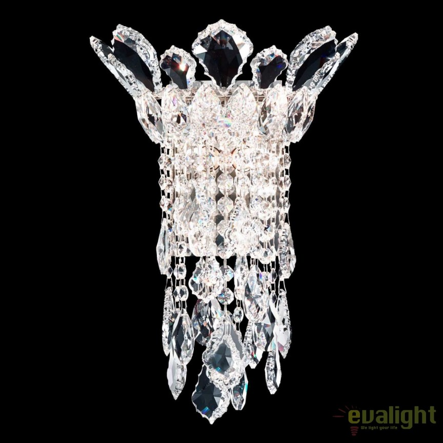Aplica eleganta design LUX cristal Heritage, Trilliane 25x34cm TR0832, Aplice Cristal Schonbek , Corpuri de iluminat, lustre, aplice, veioze, lampadare, plafoniere. Mobilier si decoratiuni, oglinzi, scaune, fotolii. Oferte speciale iluminat interior si exterior. Livram in toata tara.  a