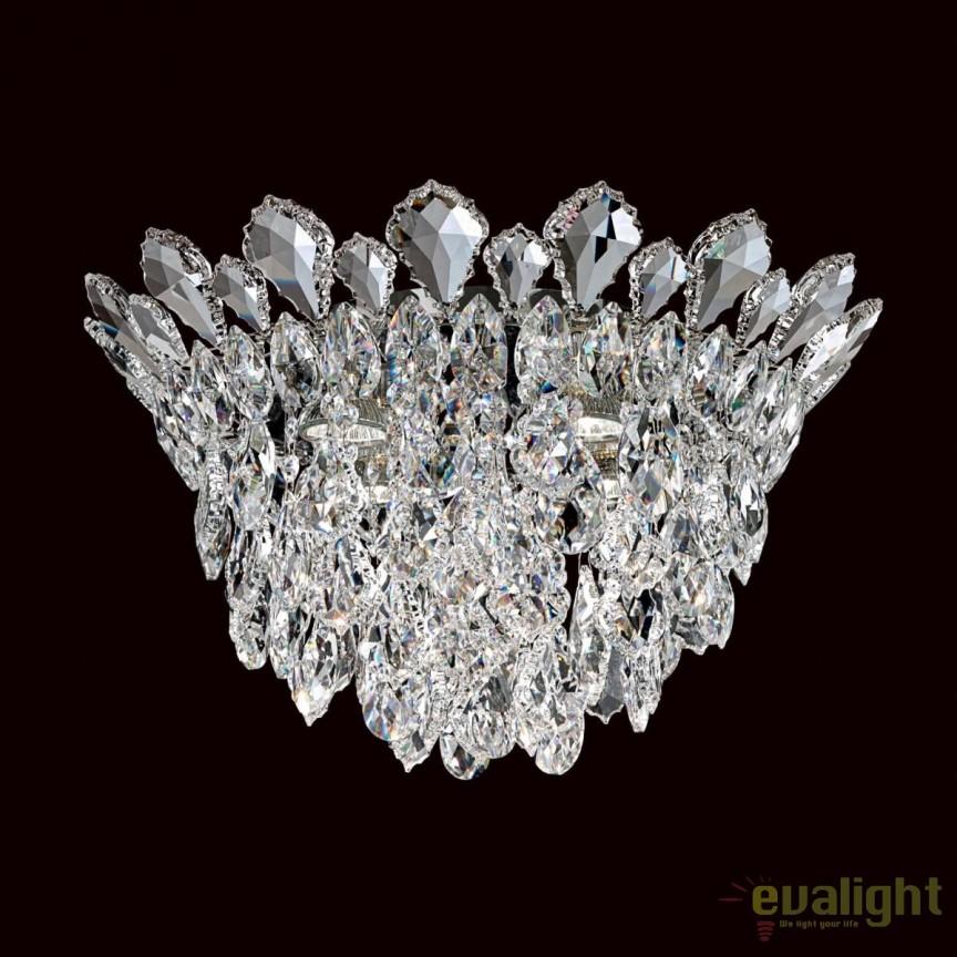Lustra aplicata eleganta, design LUX cristal Heritage, Trilliane 43cm, H-27cm TR1201, Magazin, Corpuri de iluminat, lustre, aplice, veioze, lampadare, plafoniere. Mobilier si decoratiuni, oglinzi, scaune, fotolii. Oferte speciale iluminat interior si exterior. Livram in toata tara.  a