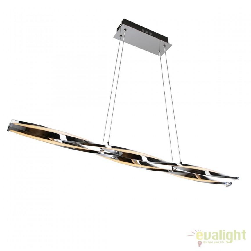 Lustra LED design modern decorativ JOKKMOKK 167100 SU, Lustre LED, Pendule LED, Corpuri de iluminat, lustre, aplice, veioze, lampadare, plafoniere. Mobilier si decoratiuni, oglinzi, scaune, fotolii. Oferte speciale iluminat interior si exterior. Livram in toata tara.  a