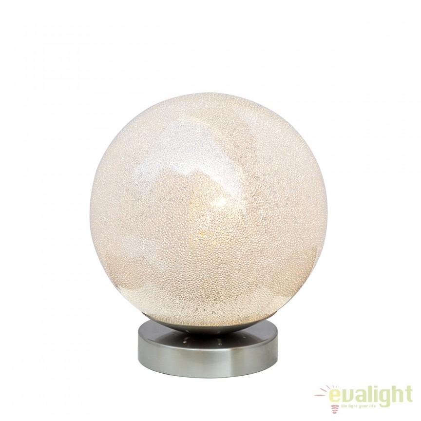 Veioza / Lampa de masa moderna DIEM 210108 SU, Veioze, Lampi de masa, Corpuri de iluminat, lustre, aplice, veioze, lampadare, plafoniere. Mobilier si decoratiuni, oglinzi, scaune, fotolii. Oferte speciale iluminat interior si exterior. Livram in toata tara.  a
